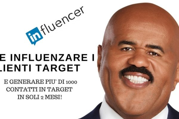 Linkedin influencer - Trova i clienti target in 4 mosse